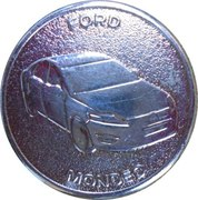 Token - Mondial de L'automobile Paris 2010 (Ford Mondéo) – obverse