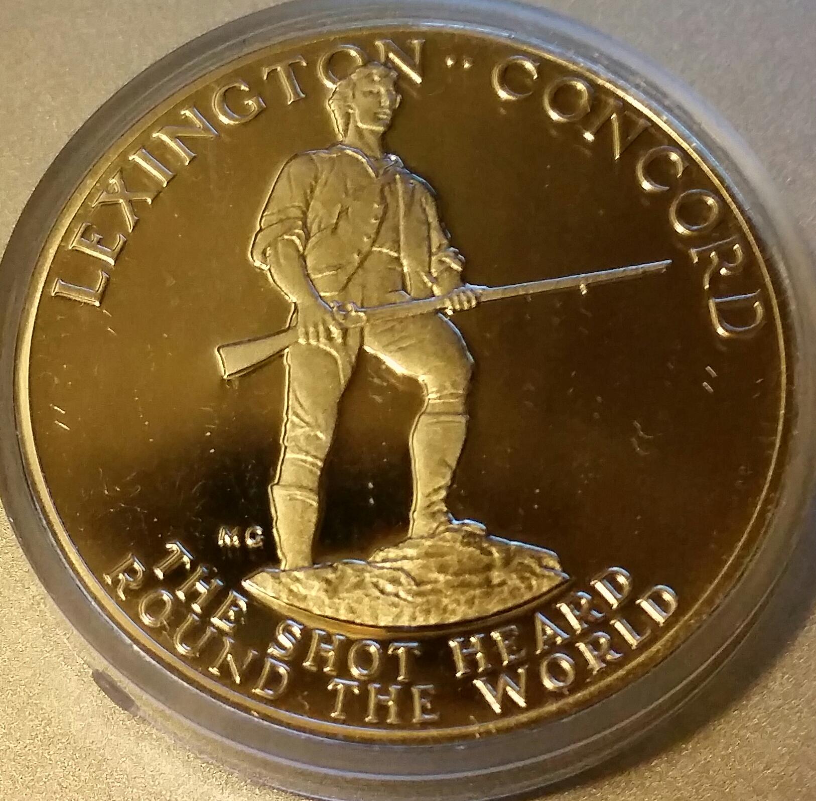 paul revere bicentennial coin
