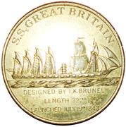 Token - S.S. Great Britain – obverse