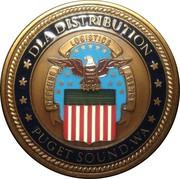 Commander's Coin  (DLA Distribution; Puget Sound) – obverse