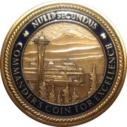 Commander's Coin  (DLA Distribution; Puget Sound) – reverse