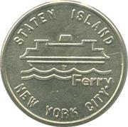 1 Fare - Staten Island Ferry (NeW York) – obverse