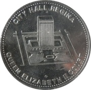 Token - City Hall Regina – obverse