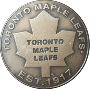 Medallion - Toronto Maple Leafs – obverse