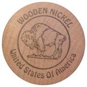 Wooden Nickel - Jacksonville Camp Lejeune Coin Club – reverse