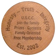 Wooden Nickel - U.S. Coin Collecting – obverse