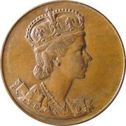 Medallion - Elizabeth II (Coronation) – obverse
