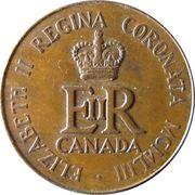 Medallion - Elizabeth II (Coronation) – reverse
