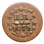 12½ Cents - Kahului & Wailuku Railroad – reverse