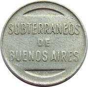 Metro Token - Subte (Buenos Aires) – reverse