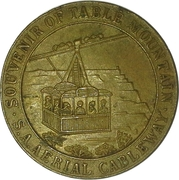 Token - Table Mountain – obverse