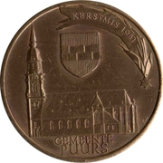 50 Krijgers - Puurs Miniatuur Museum – obverse