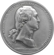 America's First Medals - George Washington – obverse