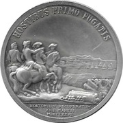 America's First Medals - George Washington – reverse