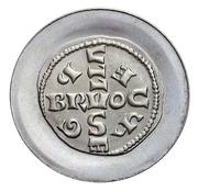 Token - Baudouin I (Bruocsella coin) – reverse