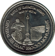 Trade Dollar - Niagara Falls, Ontario – obverse