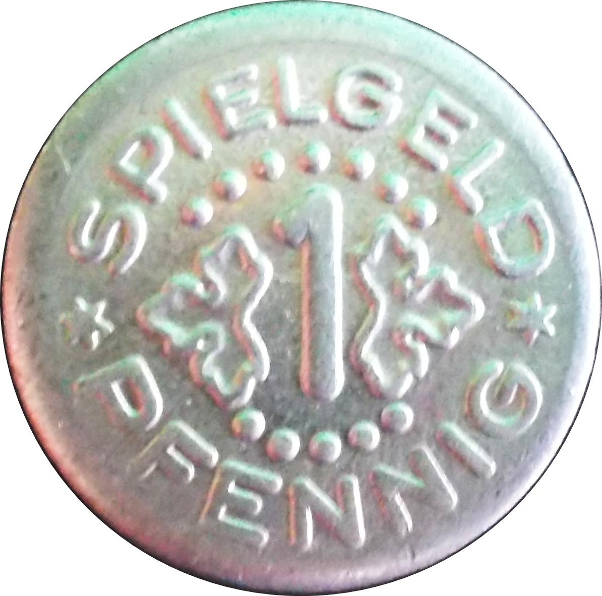 Spielgeld pfennig 1 10 рублей города воинской славы тверь цена
