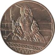 First Spouse Medal (Jane Pierce) – reverse