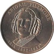 First Spouse Medal (Abigail Filmore) – obverse