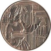 First Spouse Medal (Abigail Filmore) – reverse