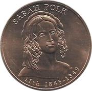 First Spouse Medal (Sarah Polk) – obverse