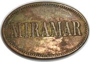 2 Peso - Miramar (coffee harvester token) – reverse
