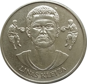 Official Lithuanian Basketball Players Medal Collection (Linas Kleiza) – obverse