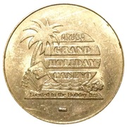 25 Cents - Aruba Grand Holiday Casino – obverse