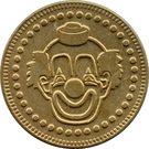 Token - No Cash Value (Clown; 22.8 mm) – obverse