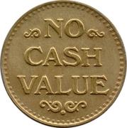 Token - No Cash Value (Clown; 22.8 mm) – reverse