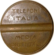 Telephone Token - TIMO – reverse