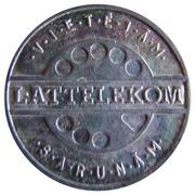 Telephone Token - Lattelekom – obverse
