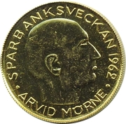 Token - Helsingfors Sparbank (Arvid Mörne) – obverse