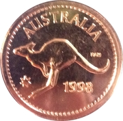 Royal Australian Mint - Penny Token – obverse