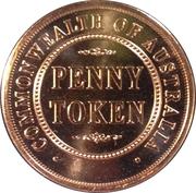 Royal Australian Mint - Penny Token – reverse