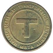 Token - Massachusetts Bay Transportation Authority – obverse
