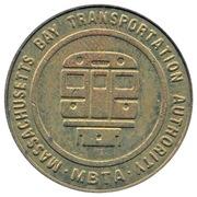 Token - Massachusetts Bay Transportation Authority – reverse