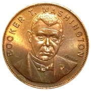 Token - Booker T Washington – obverse