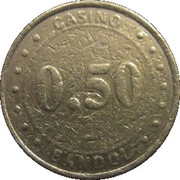 50 Cents - Casino Bandol (Groupe Partouche) – reverse