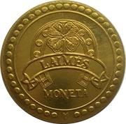 Žagarė's Cherry Festival token (Lucky coin) – obverse