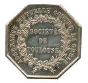 Token - Société de Toulouse – reverse