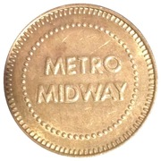 Token - Metro Midway Pepsi – obverse