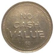 Token - No Cash Value (Eagle looking left; 23 mm) – reverse