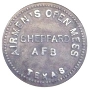 5 Cents - Sheppard AFB Open Mess – obverse