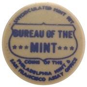 Token - Philadelphia Mint & San Francisco Assay Office – obverse