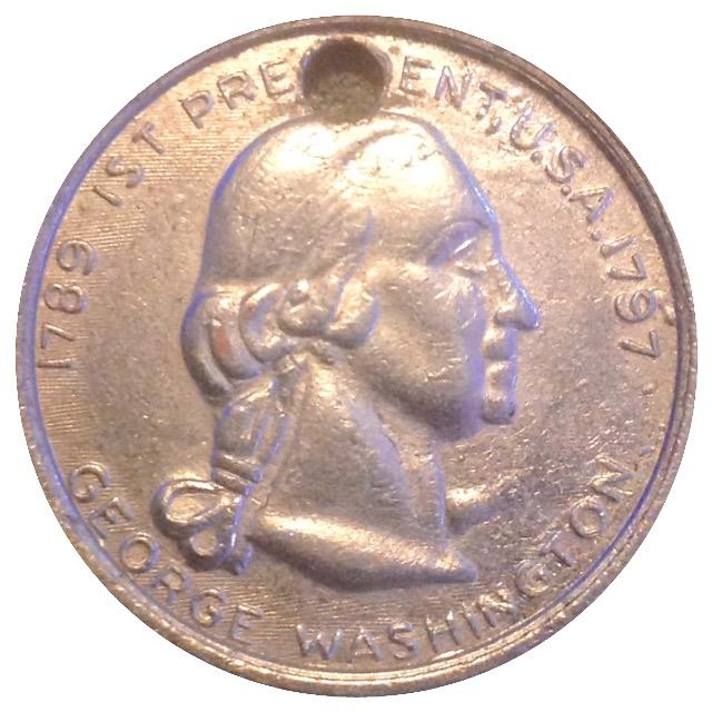george washington 1st president coin