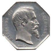 Token - Napoleon III (Bourse de Paris) – obverse