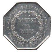 Token - Napoleon III (Bourse de Paris) – reverse