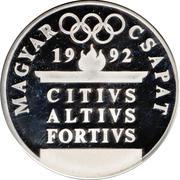 Medal - Magyar csapat (Wrestling) – reverse