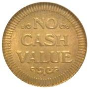 Token - No Cash Value (Steamboat; 23mm) – reverse